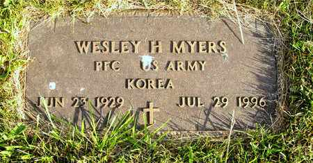 MYERS, WESLEY H. - Franklin County, Ohio | WESLEY H. MYERS - Ohio Gravestone Photos