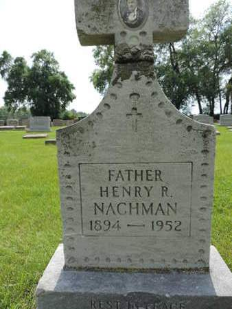 NACHMAN, HENRY R. - Franklin County, Ohio | HENRY R. NACHMAN - Ohio Gravestone Photos