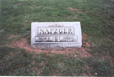 NAFZGER, ADAM E. - Franklin County, Ohio | ADAM E. NAFZGER - Ohio Gravestone Photos