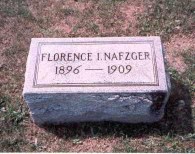 NAFZGER, FLORENCE I. - Franklin County, Ohio | FLORENCE I. NAFZGER - Ohio Gravestone Photos