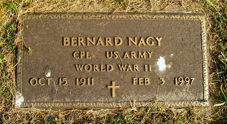 NAGY, BERNARD - Franklin County, Ohio | BERNARD NAGY - Ohio Gravestone Photos