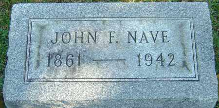 NAVE, JOHN F - Franklin County, Ohio | JOHN F NAVE - Ohio Gravestone Photos