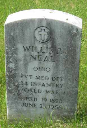 NEAL, WILLIS R. - Franklin County, Ohio | WILLIS R. NEAL - Ohio Gravestone Photos