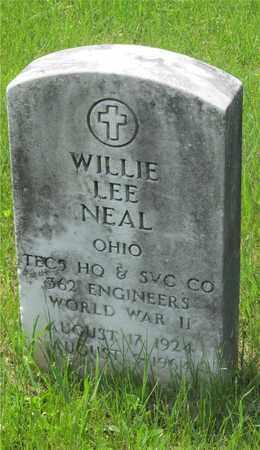 NEAL, WILLIE LEE - Franklin County, Ohio | WILLIE LEE NEAL - Ohio Gravestone Photos