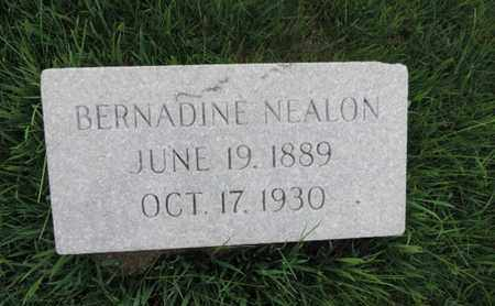 NEALON, BERNADINE - Franklin County, Ohio | BERNADINE NEALON - Ohio Gravestone Photos