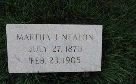 NEALON, MARTHA J - Franklin County, Ohio | MARTHA J NEALON - Ohio Gravestone Photos