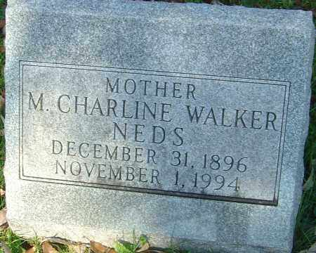 NEDS, MARGARET CHARLINE - Franklin County, Ohio | MARGARET CHARLINE NEDS - Ohio Gravestone Photos
