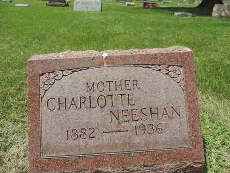 NEESHAN, CHARLOTTE - Franklin County, Ohio | CHARLOTTE NEESHAN - Ohio Gravestone Photos
