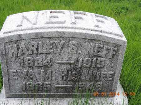 NEFF, HARLEY S - Franklin County, Ohio | HARLEY S NEFF - Ohio Gravestone Photos