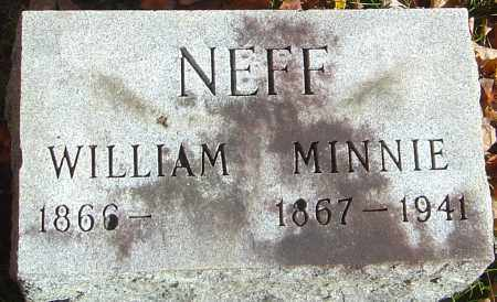 NEFF, MINNIE - Franklin County, Ohio | MINNIE NEFF - Ohio Gravestone Photos