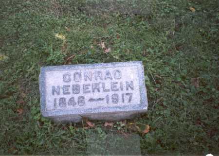 NEIBERLEIN, CONRAD - Franklin County, Ohio | CONRAD NEIBERLEIN - Ohio Gravestone Photos