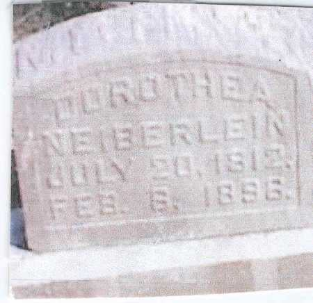 HARTMAN NEIBERLEIN, DOROTHEA - Franklin County, Ohio | DOROTHEA HARTMAN NEIBERLEIN - Ohio Gravestone Photos