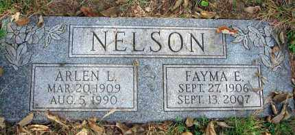 NELSON, FAYMA E. - Franklin County, Ohio | FAYMA E. NELSON - Ohio Gravestone Photos