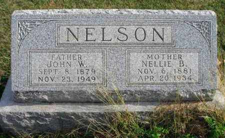 NELSON, NELLIE B. - Franklin County, Ohio | NELLIE B. NELSON - Ohio Gravestone Photos