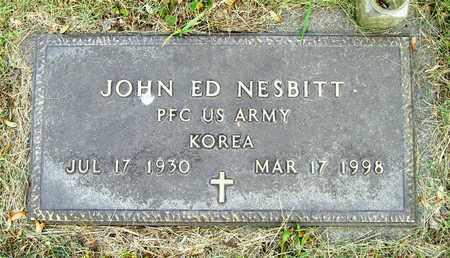 NESBITT, JOHN ED - Franklin County, Ohio | JOHN ED NESBITT - Ohio Gravestone Photos