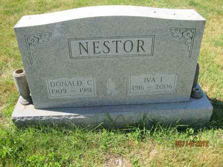NESTOR, IVA IRENE - Franklin County, Ohio | IVA IRENE NESTOR - Ohio Gravestone Photos
