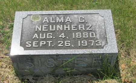 NEUNHERZ, ALMA C. - Franklin County, Ohio | ALMA C. NEUNHERZ - Ohio Gravestone Photos