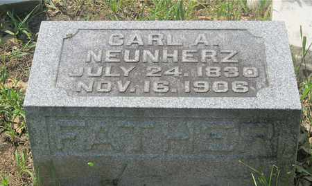 NEUNHERZ, CARL A. - Franklin County, Ohio | CARL A. NEUNHERZ - Ohio Gravestone Photos