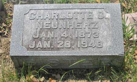 NEUNHERZ, CHARLOTTE S. - Franklin County, Ohio | CHARLOTTE S. NEUNHERZ - Ohio Gravestone Photos