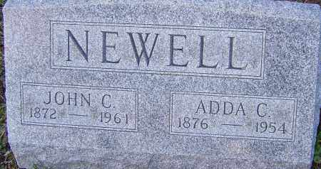 NEWELL, ADDA - Franklin County, Ohio | ADDA NEWELL - Ohio Gravestone Photos