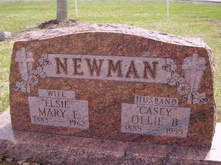 "NEWMAN, MARY E. ""ELSIE"" - Franklin County, Ohio 