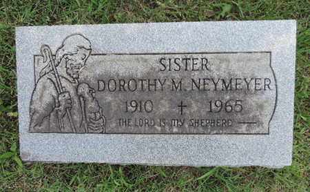 NEYMEYER, DOROTHY M. - Franklin County, Ohio | DOROTHY M. NEYMEYER - Ohio Gravestone Photos