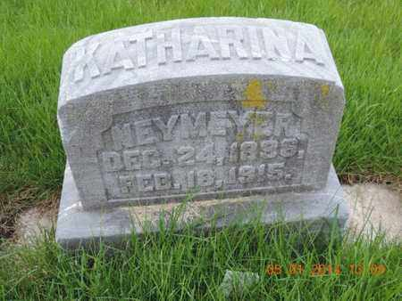 NEYMEYER, KATHARINA - Franklin County, Ohio | KATHARINA NEYMEYER - Ohio Gravestone Photos