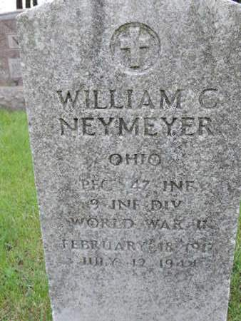NEYMEYER, WILLIAM C. - Franklin County, Ohio | WILLIAM C. NEYMEYER - Ohio Gravestone Photos