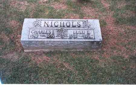 NICHOLS, CHARLES E. - Franklin County, Ohio | CHARLES E. NICHOLS - Ohio Gravestone Photos