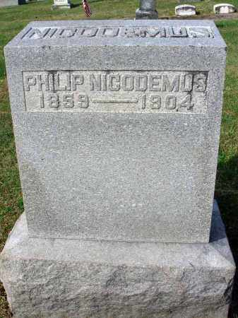 NICODEMUS, PHILIP - Franklin County, Ohio | PHILIP NICODEMUS - Ohio Gravestone Photos
