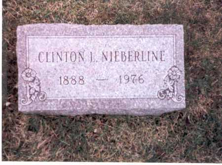 NIEBERLINE, CLINTON L. - Franklin County, Ohio | CLINTON L. NIEBERLINE - Ohio Gravestone Photos