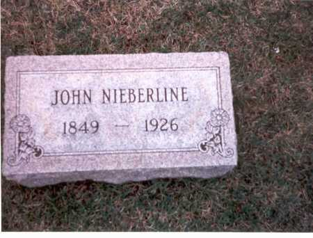 NIEBERLINE, JOHN - Franklin County, Ohio | JOHN NIEBERLINE - Ohio Gravestone Photos