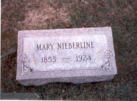 NIEBERLINE, MARY - Franklin County, Ohio | MARY NIEBERLINE - Ohio Gravestone Photos