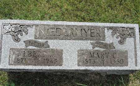 MIEDERMYER, MARY C. - Franklin County, Ohio | MARY C. MIEDERMYER - Ohio Gravestone Photos