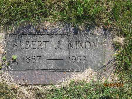 NIXON, ALBERT JOHN - Franklin County, Ohio | ALBERT JOHN NIXON - Ohio Gravestone Photos
