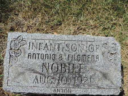 NOBILE, ANTON - Franklin County, Ohio | ANTON NOBILE - Ohio Gravestone Photos