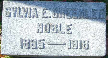 GREENLEE NOBLE, SYLVIA E - Franklin County, Ohio | SYLVIA E GREENLEE NOBLE - Ohio Gravestone Photos