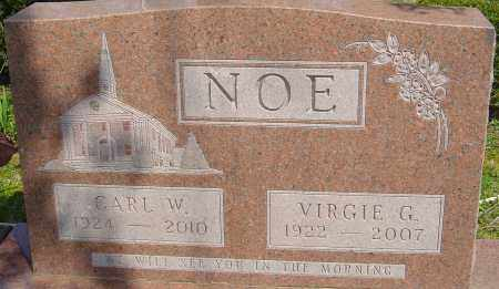 NOE, CARL W - Franklin County, Ohio | CARL W NOE - Ohio Gravestone Photos