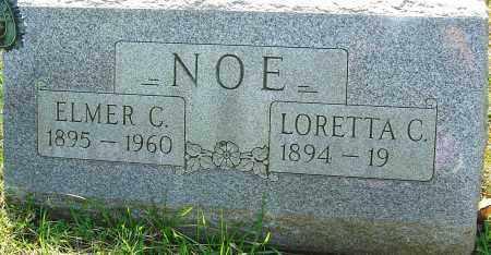 NOE, ELMER C - Franklin County, Ohio | ELMER C NOE - Ohio Gravestone Photos