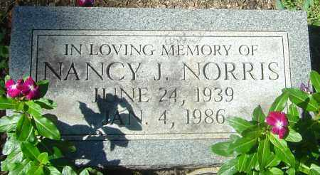 NORRIS, NANCY J - Franklin County, Ohio | NANCY J NORRIS - Ohio Gravestone Photos