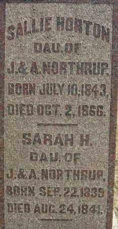 NORTHRUP, SARAH - Franklin County, Ohio | SARAH NORTHRUP - Ohio Gravestone Photos