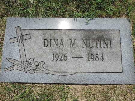 NUTINI, DINA M. - Franklin County, Ohio | DINA M. NUTINI - Ohio Gravestone Photos