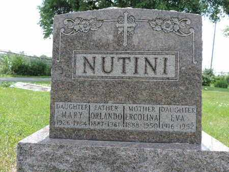 NUTINI, ERCOLINA - Franklin County, Ohio | ERCOLINA NUTINI - Ohio Gravestone Photos