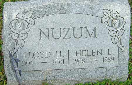 NUZUM, LLOYD - Franklin County, Ohio | LLOYD NUZUM - Ohio Gravestone Photos