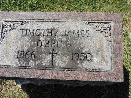 O'BRIEN, TIMOTHY JAMES - Franklin County, Ohio | TIMOTHY JAMES O'BRIEN - Ohio Gravestone Photos