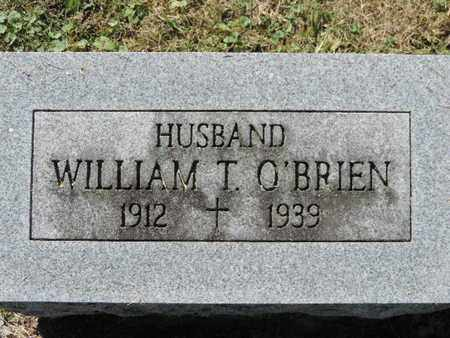 O'BRIEN, WILLIAM T. - Franklin County, Ohio | WILLIAM T. O'BRIEN - Ohio Gravestone Photos