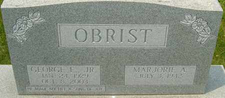 OBRIST JR, GEORGE E - Franklin County, Ohio | GEORGE E OBRIST JR - Ohio Gravestone Photos