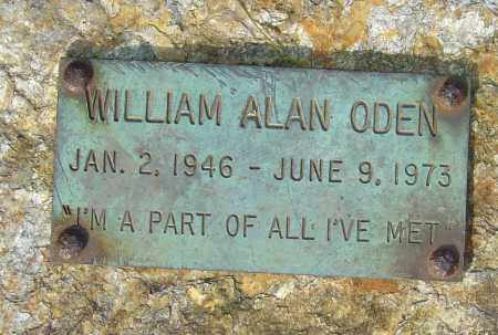 ODEN, WILLIAM ALAN - Franklin County, Ohio | WILLIAM ALAN ODEN - Ohio Gravestone Photos