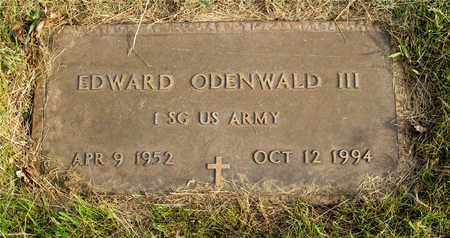 ODENWALD, EDWARD - Franklin County, Ohio | EDWARD ODENWALD - Ohio Gravestone Photos