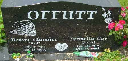 OFFUTT, PERMELIA GAY - Franklin County, Ohio | PERMELIA GAY OFFUTT - Ohio Gravestone Photos